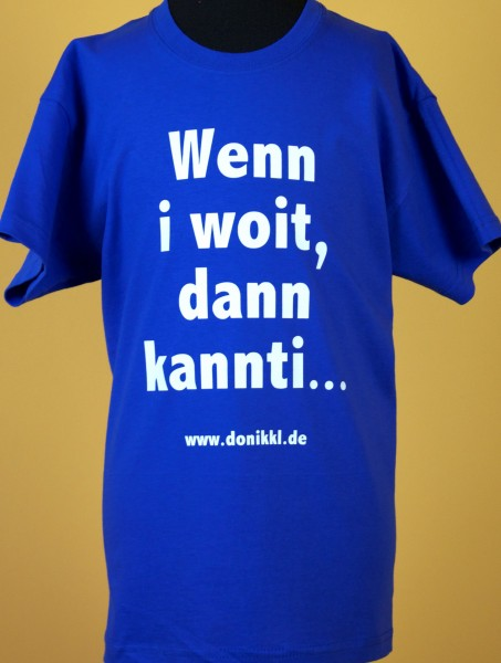 "T-Shirt ""Kannti kannti"""