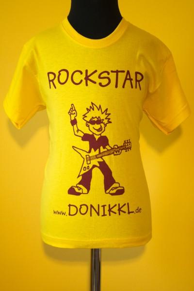 """T-Shirt """"ROCKSTAR!"""" für Kids"""