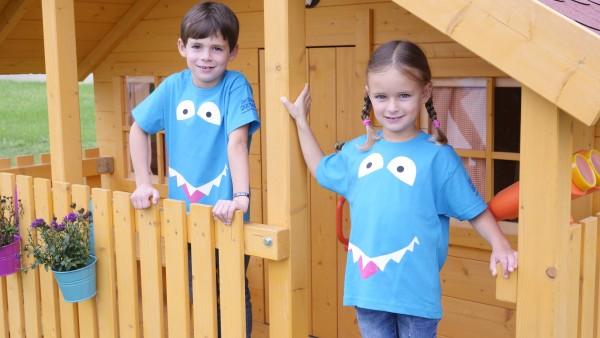 """Kinder-Shirt """"Der kleine Haifisch"""""""