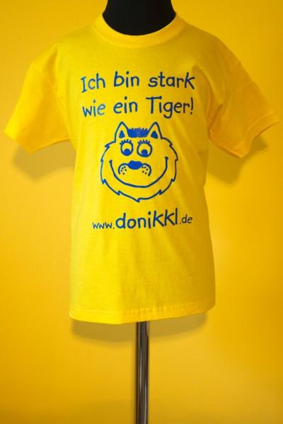 """T-Shirt """" Ich bin stark wie ein Tiger"""" Kids"""
