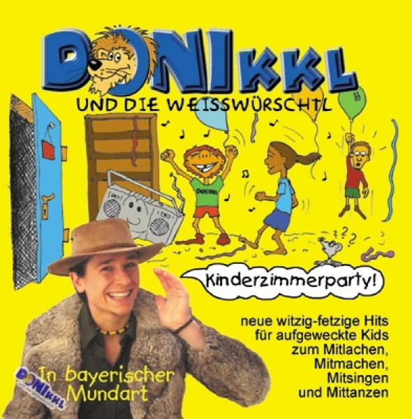 "CD ""Kinderzimmerparty"""