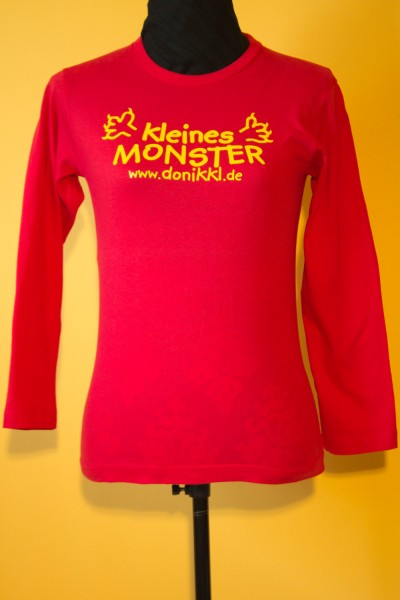 "Langarm - Shirt Teens "" kleines Monster"""