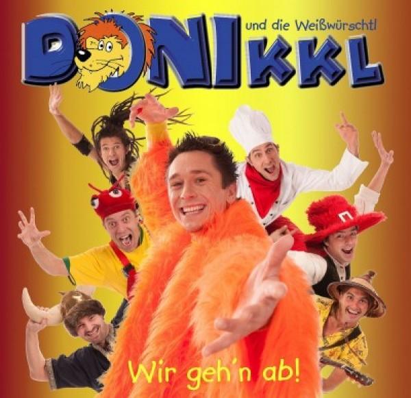 "CD ""Wir geh'n ab!"""