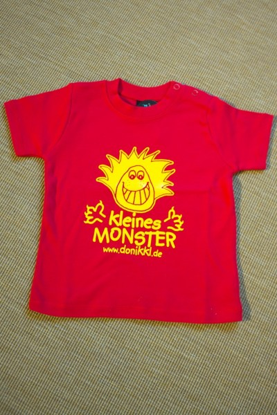 "Baby T-Shirt ""kleines Monster"""