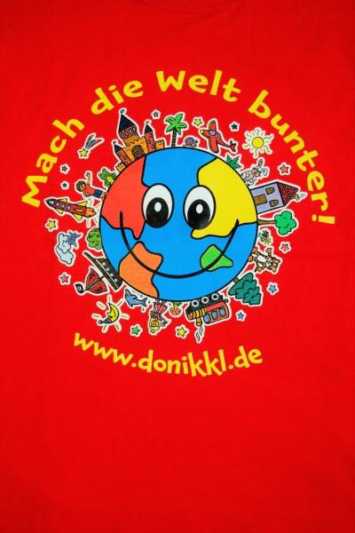 """T-Shirt """"Mach die Welt bunter"""""""