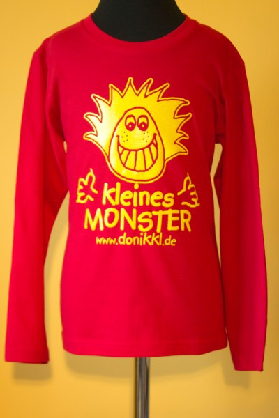 "Langarm - Shirt Kids ""kleines Monster"""